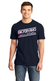 Unisex Navy Skydiving: No Such Thing As Perfectly Good Airplane - Daredevil T-shirt