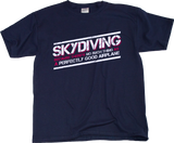 Youth Navy Skydiving: No Such Thing As Perfectly Good Airplane - Daredevil T-shirt