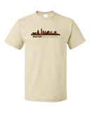 Unisex Natural Boston, Ma City Skyline - Beantown Pride Patriots Red Sox Love T-shirt