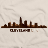 Cleveland, OH City Skyline Natural art preview