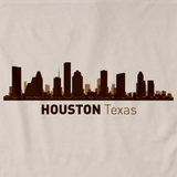 Houston, TX City Skyline Natural art preview