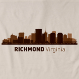 Richmond, VA City Skyline Natural art preview