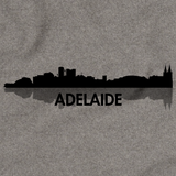 Adelaide, Australia City Skyline Grey art preview