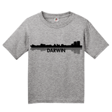Youth Grey Darwin, Australia City Skyline - Darwin Love Hometown City Pride T-shirt