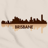 Brisbane, Australia City Skyline Natural art preview
