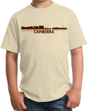 Youth Natural Canberra, Australia City Skyline - Canberra Love Hometown Pride T-shirt