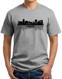 Unisex Grey Winnipeg, Canada City Skyline - Winnipeg Jets Pride Love Native T-shirt