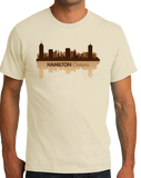 Unisex Natural Skyline Of Hamilton, Ontario - Hamilton Tiger-Cats Pride Love T-shirt