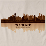 Vancouver, Canada City Skyline Natural art preview