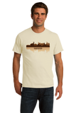 Unisex Natural Vancouver, Canada City Skyline - Vancouver Canucks Pride Love T-shirt
