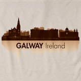 Galway, Ireland City Skyline Natural art preview