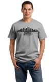Unisex Grey Seattle City Skyline - Space Needle Grunge Rock Home Love Pride T-shirt