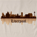 Liverpool, England City Skyline Natural art preview