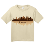 Youth Natural London, England City Skyline - Love London United Kingdom Pride T-shirt