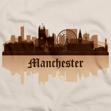 Manchester, England City Skyline Natural art preview
