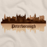 Skyline of Peterborough, UK Natural art preview