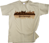 Youth Natural Skyline Of Peterborough, UK - Peterborough United Football Club T-shirt
