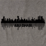 Skyline of Abu Dhabi, UAE Grey art preview