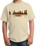 Youth Natural Dubai, UAE City Skyline - United Arab Emirates City Abu Dhabi T-shirt