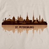 St. Petersburg, Russia City Skyline Natural art preview