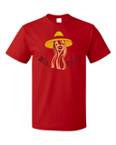 Standard Red El Tocino - Spanish Translation Bacon Funny Espanol Bilingual T-shirt