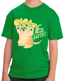 Youth Green El Gatito - Spanish Vocab Kitten Cute Fun Espanol Adorable T-shirt