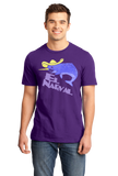 Standard Purple El Narval - Spanish Translation Narwhal Funny Cute Unicorn T-shirt