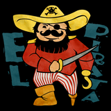 EL PIRATA Black art preview