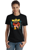 Ladies Black El Pirata - Spanish Translation Pirate Cute Funny Espanol T-shirt
