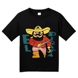 Youth Black El Pirata - Spanish Translation Pirate Cute Funny Espanol T-shirt