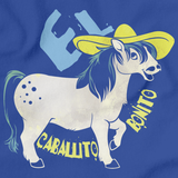 EL CABALLITO BONITO Royal Blue art preview