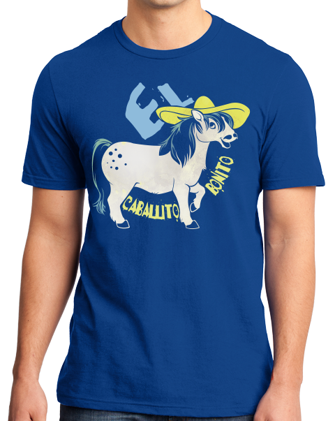 Standard Royal El Caballito Bonito - Spanish Translation Cute Little Pony T-shirt
