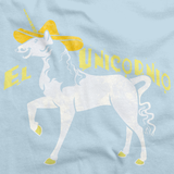EL UNICORNIO Light blue art preview