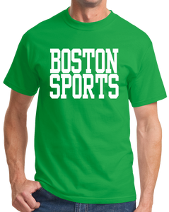 Standard Green Boston Sports - Generic Funny Sports Fan T-shirt
