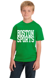 Youth Green Boston Sports - Generic Funny Sports Fan T-shirt