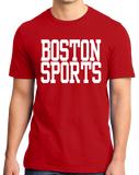 Standard Red Boston Sports - Generic Funny Sports Fan T-shirt