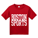 Youth Red Boston Sports - Generic Funny Sports Fan T-shirt