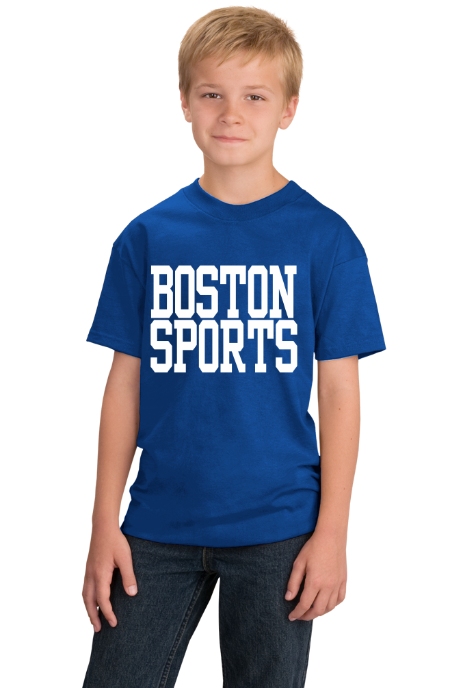 Youth Royal Boston Sports - Generic Funny Sports Fan T-shirt