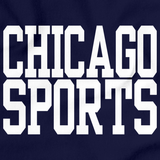 CHICAGO SPORTS Navy art preview
