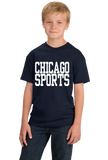 Youth Navy Chicago Sports - Generic Funny Sports Fan T-shirt
