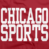 CHICAGO SPORTS Red art preview
