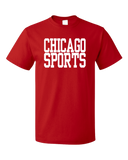 Standard Red Chicago Sports - Generic Funny Sports Fan T-shirt