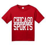 Youth Red Chicago Sports - Generic Funny Sports Fan T-shirt
