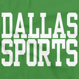 DALLAS SPORTS Green art preview