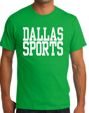 Standard Green Dallas Sports - Generic Funny Sports Fan T-shirt