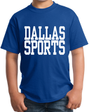 Youth Royal Dallas Sports - Generic Funny Sports Fan T-shirt
