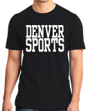 Standard Black Denver Sports - Generic Funny Sports Fan T-shirt