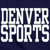 DENVER SPORTS Navy art preview