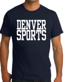 Standard Navy Denver Sports - Generic Funny Sports Fan T-shirt