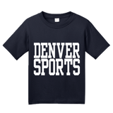 Youth Navy Denver Sports - Generic Funny Sports Fan T-shirt